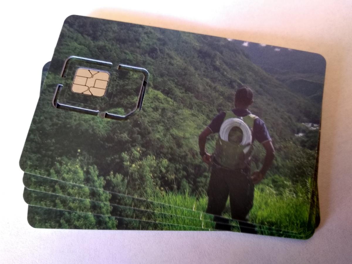 Ordering SIM Cards